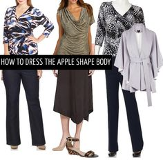 How to dress the apple body shape | 40+ Style - How to look and feel great over 40! | Bloglovin'
