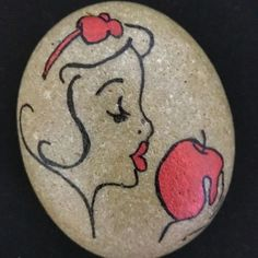 Image result for disney rock painting ideas