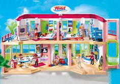269 best Playmobil :by G images on Pinterest | Doll houses ...