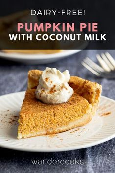Enjoy this dairy-free take on a classic American Thanksgiving dessert. Made with fresh pumpkin and warming spices, Coconut Milk Pumpkin Pie is deliciously easy to make, ready to pop in the oven in 10 minutes! Dairy Free Pumpkin Pie, Canned Pumpkin, Pumpkin Recipes, Australian Pavlova Recipe, Australian Food, Chicken Mole Recipe, Dessert Games, Mother Recipe, Sweet Desserts