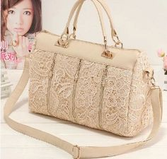 Find More Shoulder Bags Information about 2014 autumn princess lace fashion  casual bag women handbag women shoulder bag bag women messenger bag large  size ... 18cb3e263418b