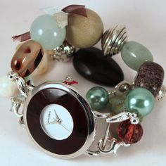 Shabby Chic Seaside.. Sea Green Beige and by WhichWatchDesigns, $20.00