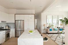 Кухня совмещенная с залом в частном доме: 100 идей дизайна