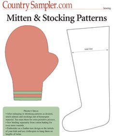 Mitten & Stocking Patterns