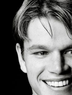 A young Matt Damon
