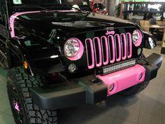 Jeeps for a Cure! 2014 Custom Susan B. Komen Jeep Wrangler Unlimited