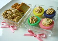 Ovos Coloridos Recheados com Atum   SaborIntenso.com