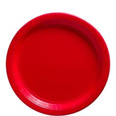 Red Paper Lunch Plates - Party City