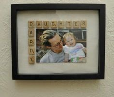 Daddy/Daughter photo frame