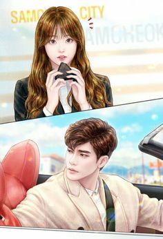 """My Secret Romance""/ Kdrama Anime Couples, Cute Couples, Live Action, Kdrama, Korean Drama Romance, Drama Memes, Levi X Eren, Sung Hoon, Anime Love Couple"