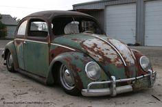 Green & Rust Hoodride