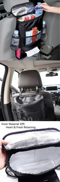 US$7.90 Multi-functional Car Seat Storage Bag Oxford Heat Fresh Retaining Bag