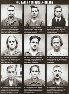 Female camp guards and their fates. Bergen, Crime, Evil People, Band Of Brothers, The Third Reich, Interesting History, Historical Pictures, Women In History, Strength
