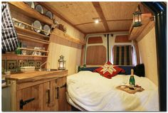 Cozy Camper Van Interior Ideas (58) - The Urban Interior