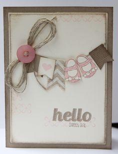 Stampin Up banner punch