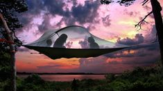 RV And Camping. Great Ideas To Think About Before Your Camping Trip. For many, camping provides a relaxing way to reconnect with the natural world. If camping is something that you want to do, then you need to have some idea Tree Camping, Best Tents For Camping, Cool Tents, Go Camping, Amazing Tents, Camping Hacks, Camping Essentials, Camping Dishes, Camping Storage
