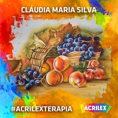 #Acrilexterapia por Cláudia Maria Silva