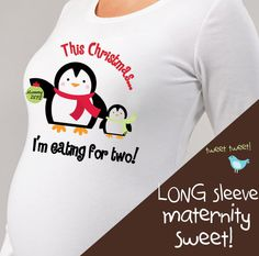 christmas maternity tops shirts perfect pregnancy by zoeysattic