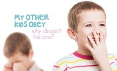 Have you ever found yourself wondering: My Other Kids Obey- Why Isn't This Child Obeying? You're not alone.