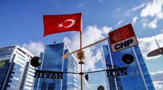 """CHP Genel Merkezi önüne pervanesinde """"Türkiye için Hayır"""" yazısı bulunan ve bir partili tarafından hediye edilen rüzgar gülü konuldu.           nediyor.com   #CHP'Den, #Gülü, #Rüzgar, #""""Hayır""""Lı http://havari.co/chpden-hayirli-ruzgar-gulu/"""