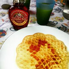 Waffle with spelt and soya - Waffle with spelt and soya
