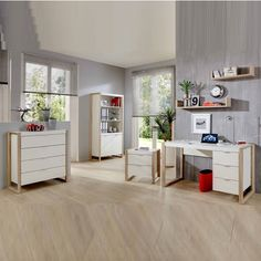 With a thick MDF design in pear white and oak effect, this stunning office #furniture is a suitable match to any #livingarea. It is a must have furniture for your #stylishhome.