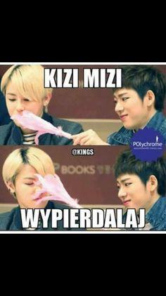 K Meme, Bts Memes, Funny Memes, Polish Memes, Stupid Love, King Book, Mood Pics, Wtf Funny, Bts Boys