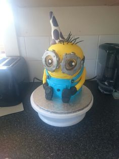 Minion for my lads 3rd birthday