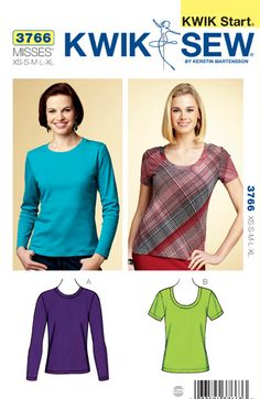 Kwik Sew 3766 - looks like a great wardrobe builder... I really need some tops!