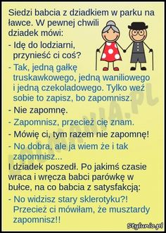 Zapomniał. :D Weekend Humor, Smile Everyday, Good Mood, Cool Things To Make, Texts, Haha, Have Fun, Jokes, Fandoms