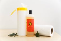 ⭕️ NATURAL CLEANING WIPES DIY ⭕️ What you will need: ✔️Quality paper towel roll ✔️1/2 cup vinegar ✔️1 cup water ✔️1 tablespoon On Guard Cleaner Concentrate Cut the paper towel roll to fit lengthwise in your chosen container and place it inside - I personally use a big glass round jar. Mix all the wet ingredients together, then pour all over the paper towel into the container. Wait a few minutes and pull out the cardboard tube in the centre once it is soaked through. Then grab a paper towel…