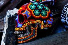 skull huichol - Buscar con Google