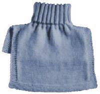 Turtleneck Dickey Free Knitting Pattern - KarensVariety.com