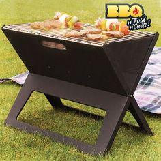 Barbacoa Portátil Plegable BBQ Quick, pequeño tamaño, se monta fácilmente, incluye 2 parrillas