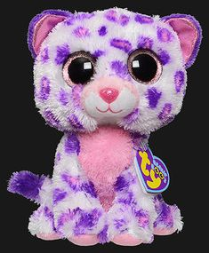 Glamour, Ty Beanie Boo Justice Stores exclusive leopard, reference information and photograph. Expensive Beanie Babies, Ty Beanie Boos Collection, Disney Princess Toys, Doll Toys, Dolls, Baby Bash, Barbie Stuff, Stuffed Toys, Kittens Cutest