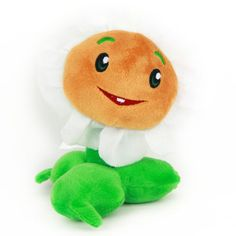 """Plants Vs Zombies Series Plush Toy - Marigold 16cm/6.3"""" Tall (Small Size)"""
