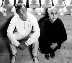 The young pope and Don Tommaso.