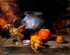 qiang huang art paintings still life