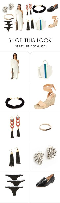 """""""fashion collection"""" by monica022 ❤ liked on Polyvore featuring StyleKeepers, Clare V., Elizabeth and James, Loeffler Randall, Adia Kibur, Nora Kogan, Ben-Amun, Calvin Klein Underwear, blank canvas and vintage"""