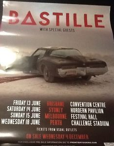 bastille concert new zealand