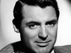 Carey Grant whose real name was Archibald Leach. LOL I just can't swoon over someone with the last name Leach!