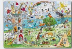 http://dessinemoiunehistoire.net/ ilustraciones Wimmelbild