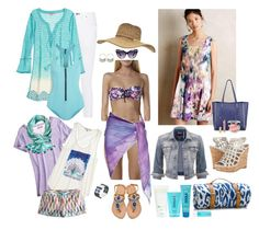 """Weekend Pool Party"" by ydnew4 ❤ liked on Polyvore featuring rag & bone, Moontide, Leona Lengyel, Calypso St. Barth, Billabong, Maslin & Co., Miss Selfridge, COOLA Suncare, J.Crew and Ivy + Blu"