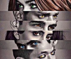 Eyes of cast - shadowhunters 💘💎 Alec Lightwood, Isabelle Lightwood, Shadowhunters Frases, Shadowhunters Series, Shadowhunters The Mortal Instruments, Clary And Simon, Clary E Jace, Clary Fray, Vampires