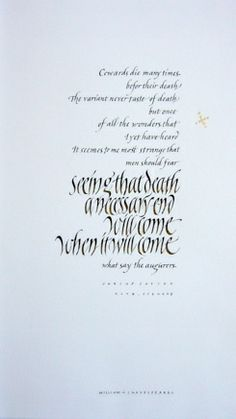 Julius Caesar | Yukimi Annand: gouache on Rives BFK and applied 24k gold