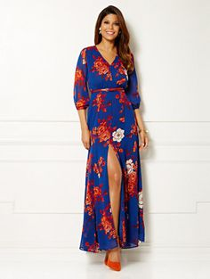 Shop Eva Mendes Collection - Countess Maxi Dress. Find your perfect size online at the best price at New York & Company.