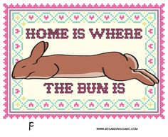 Home is where the bun is <3