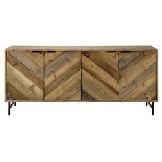 Credenza bassa in legno di pino riciclato L 175 cm €799,90