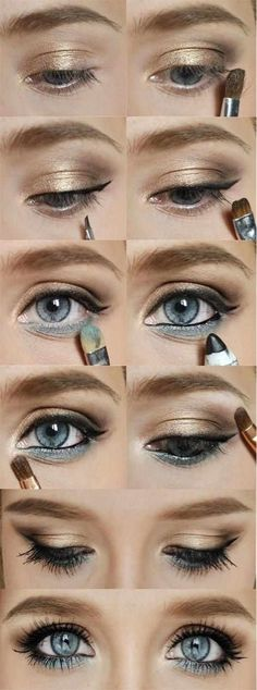 .Eye makeup can define how natural or dramatic your look, Below you can look…