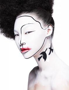 Magazine: Harper's Bazaar Thailand September 2013 Title: Makeup is Art Photographer: Thananon Thanakornkarn Models: Nasuda Jirasakhiran and Diana Dedik Beauty Editor: Chuenchanok Thapvong